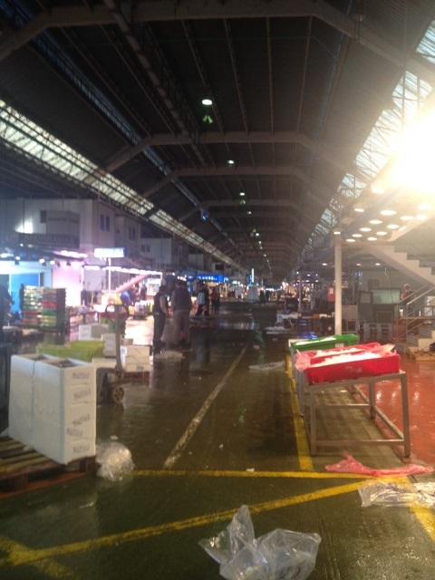 Interior actual mercado central de pescados AEMPM Historia de la aempm Historia de la aempm