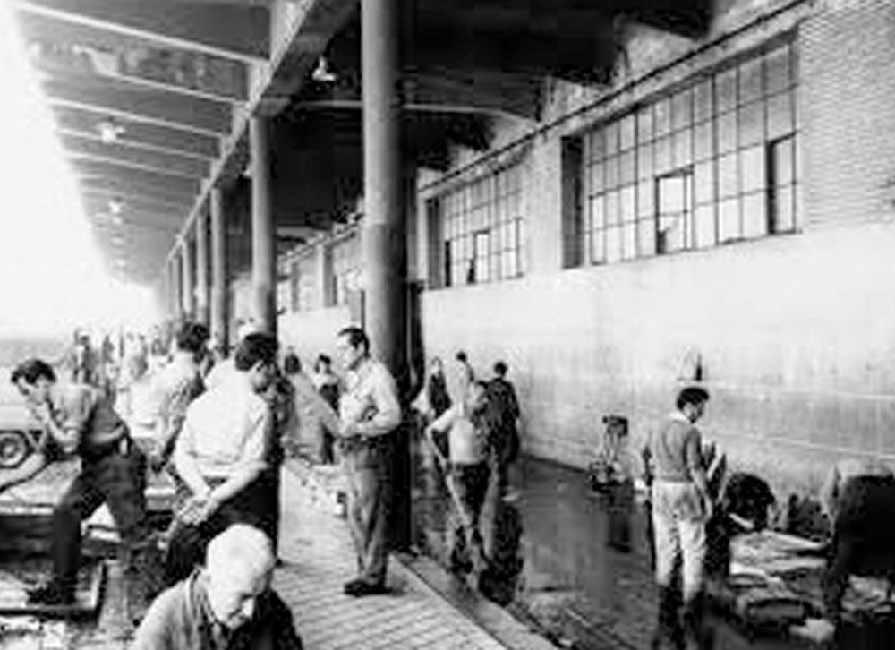 Muelle mercado central de pescados AEMPM Historia de la aempm Historia de la aempm