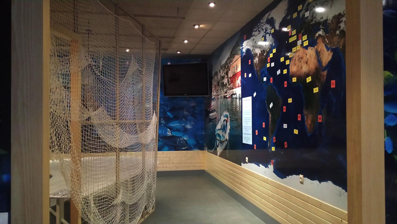Centro interactivo del pescado lateral derecho AEMPM Centro Interactivo del Pescado Centro Interactivo del Pescado